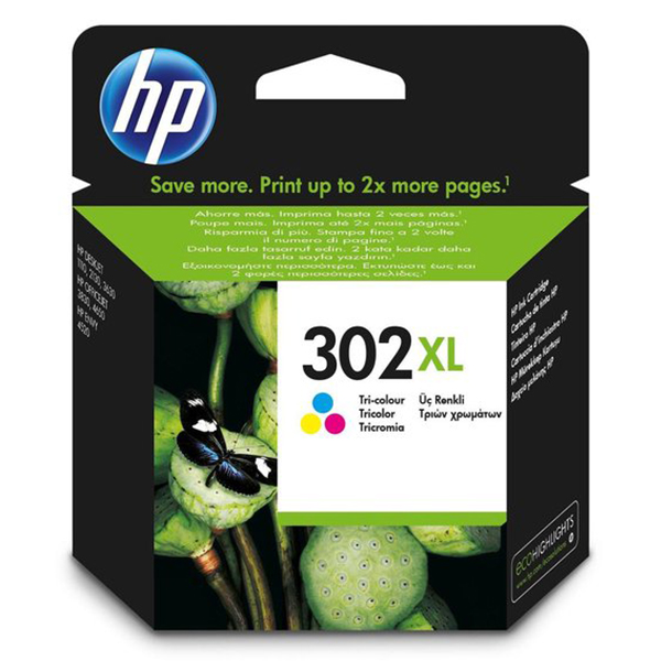 HP 302XL inktcartridge Color