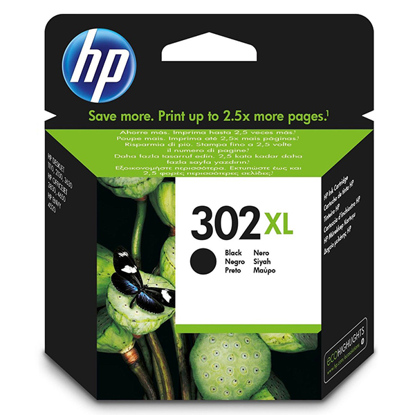 HP 302XL inktcartridge Black