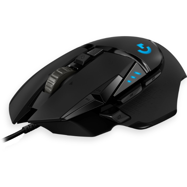 Logitech G502 Hero USB Gaming muis